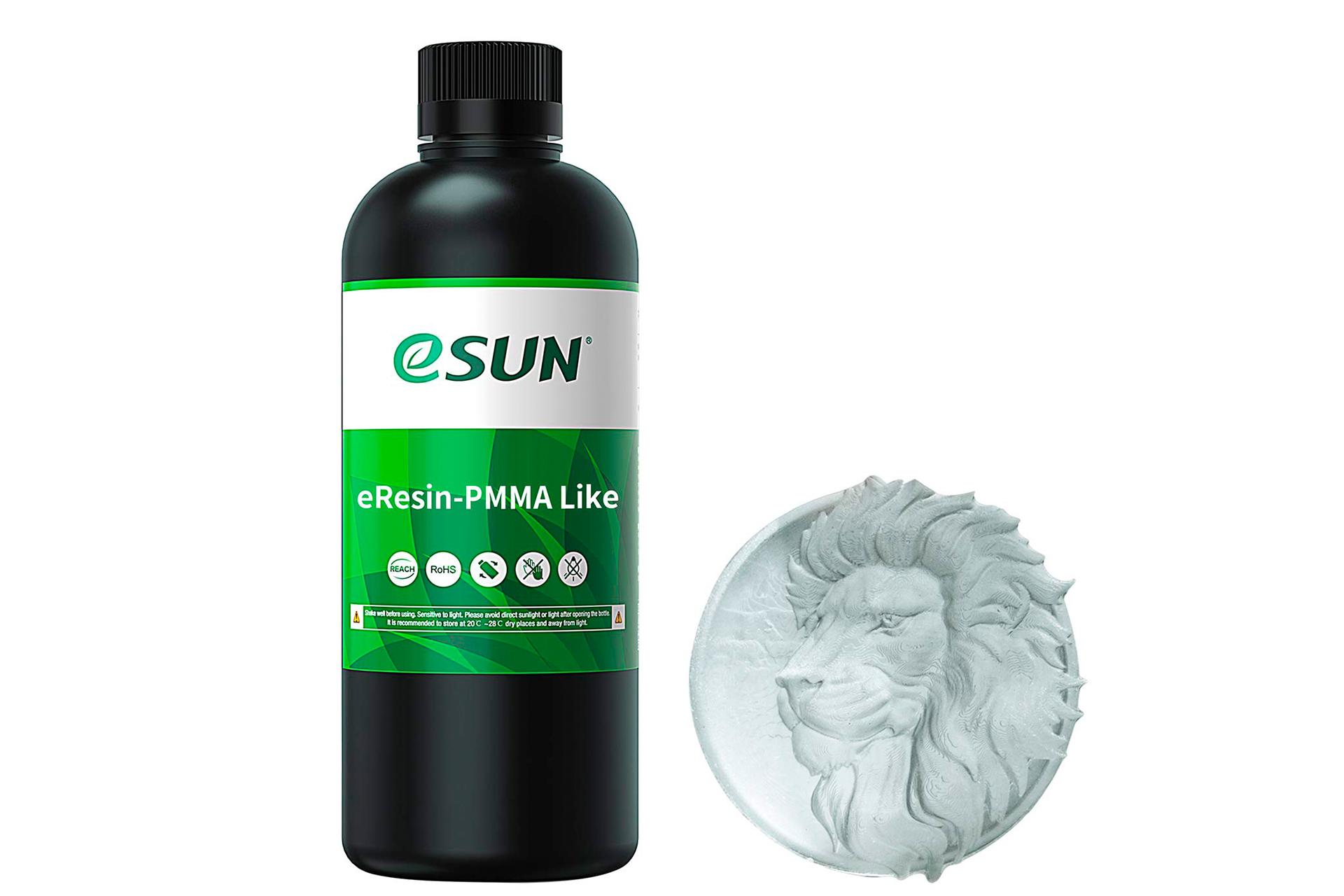 Фотополимерная смола ESUN PMMA Like Resin прозрачный transparent купить украина 1