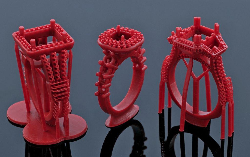 печать ювелирных украшений на 3d принтере в киеве и харькове