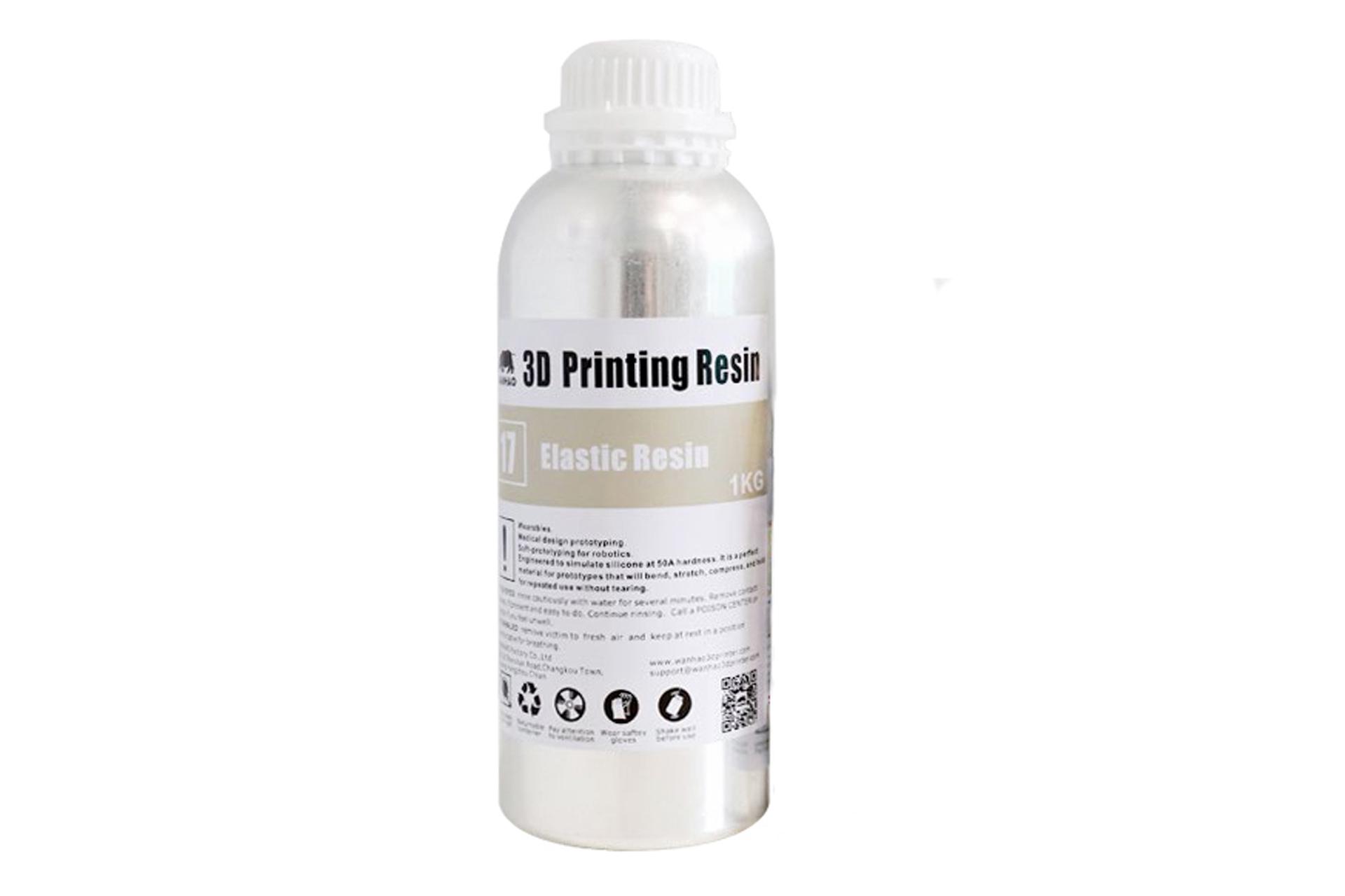 Фотополимерная смола Wanhao Elastic UV resin купить украина 1