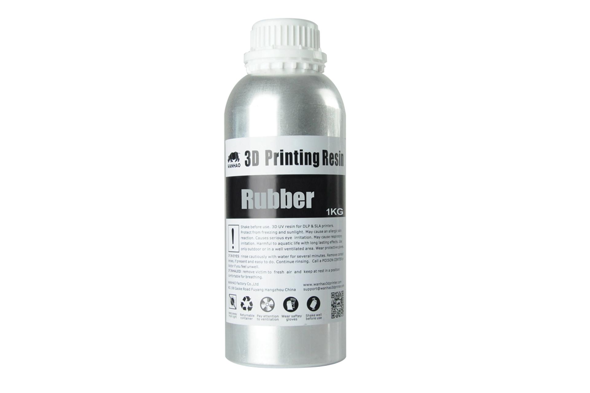 Фотополимерная смола Wanhao Rubber UV resin, 1л украина 1