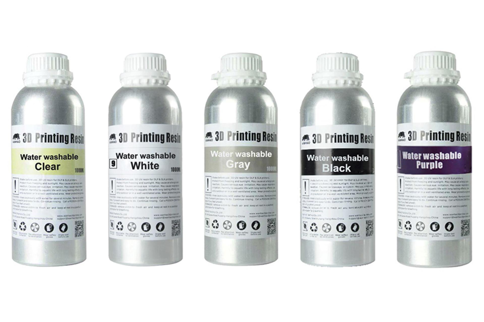 Фотополимерная смола Wanhao Water Washable UV resin купить украина