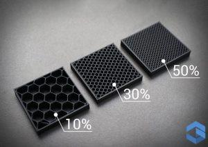 Внутренне заполнение при 3D печати