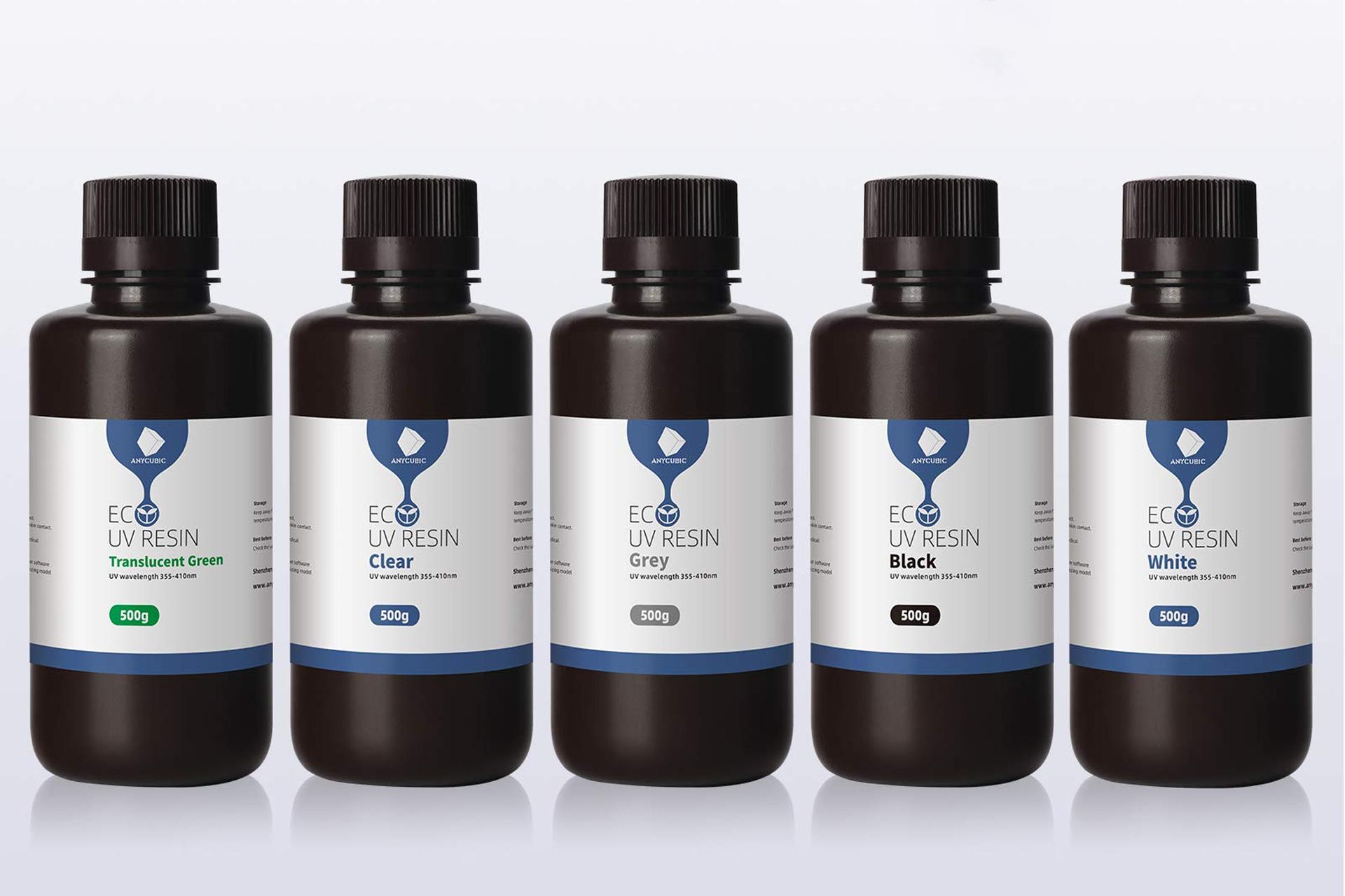 Экологичная фотополимерная смола Anycubic UV resin (plant-based), ECO 500мл купить киев харьков днепр одесса запорожье львов 1