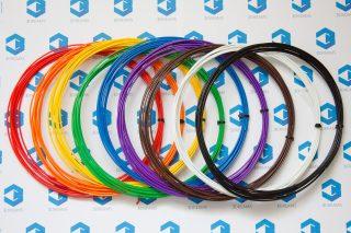 Пластик для 3D ручки ABS (набор 9 цветов) диаметр 1.75 мм купить украина