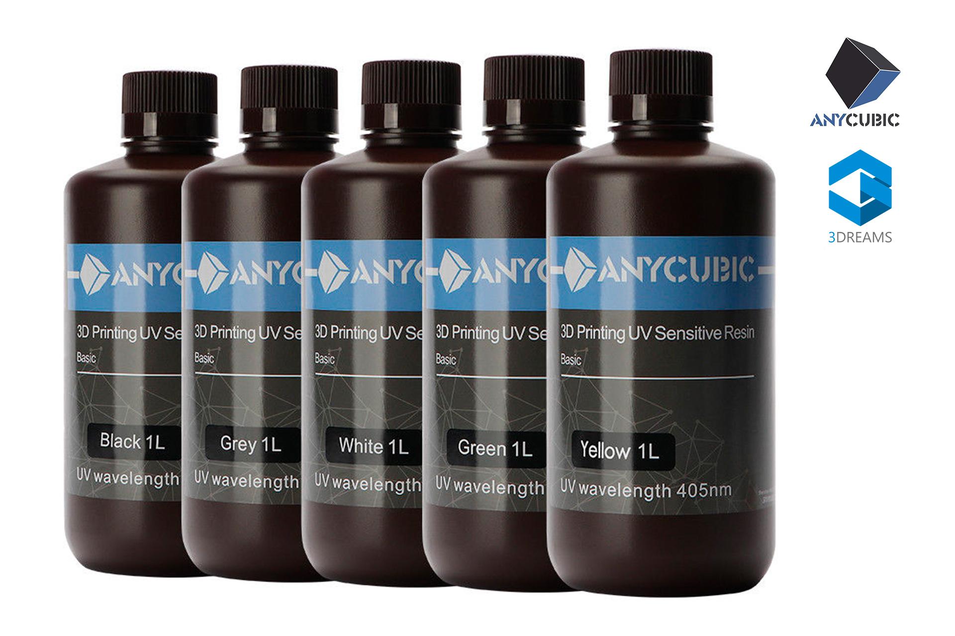 Фотополимерная смола Anycubic 405nm UV resin 1л украина купить 1