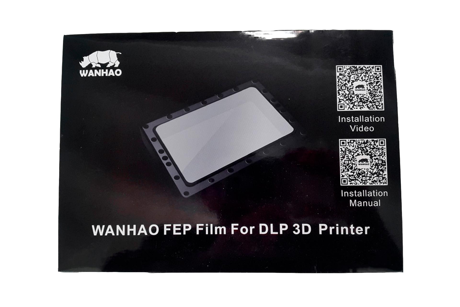 Тефлоновая FEP пленка для ванночки для DLP 3D принтера Wanhao Duplicator 7, 7 Plus купить киев харьков одесса львов запорожье днепр