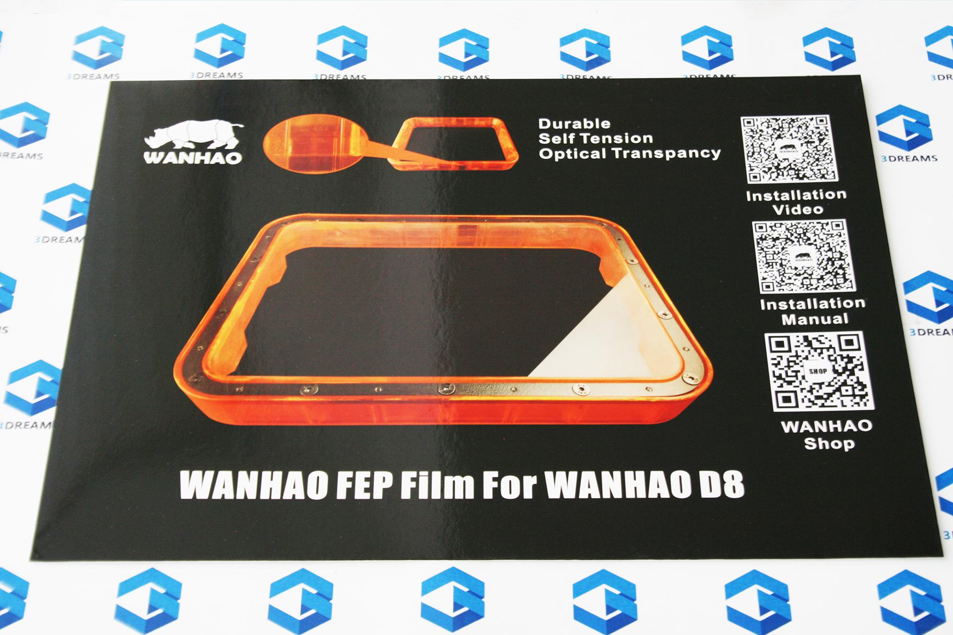 Тефлоновая FEP пленка для ванночки для DLP 3D принтера Wanhao Duplicator 8 купить украина
