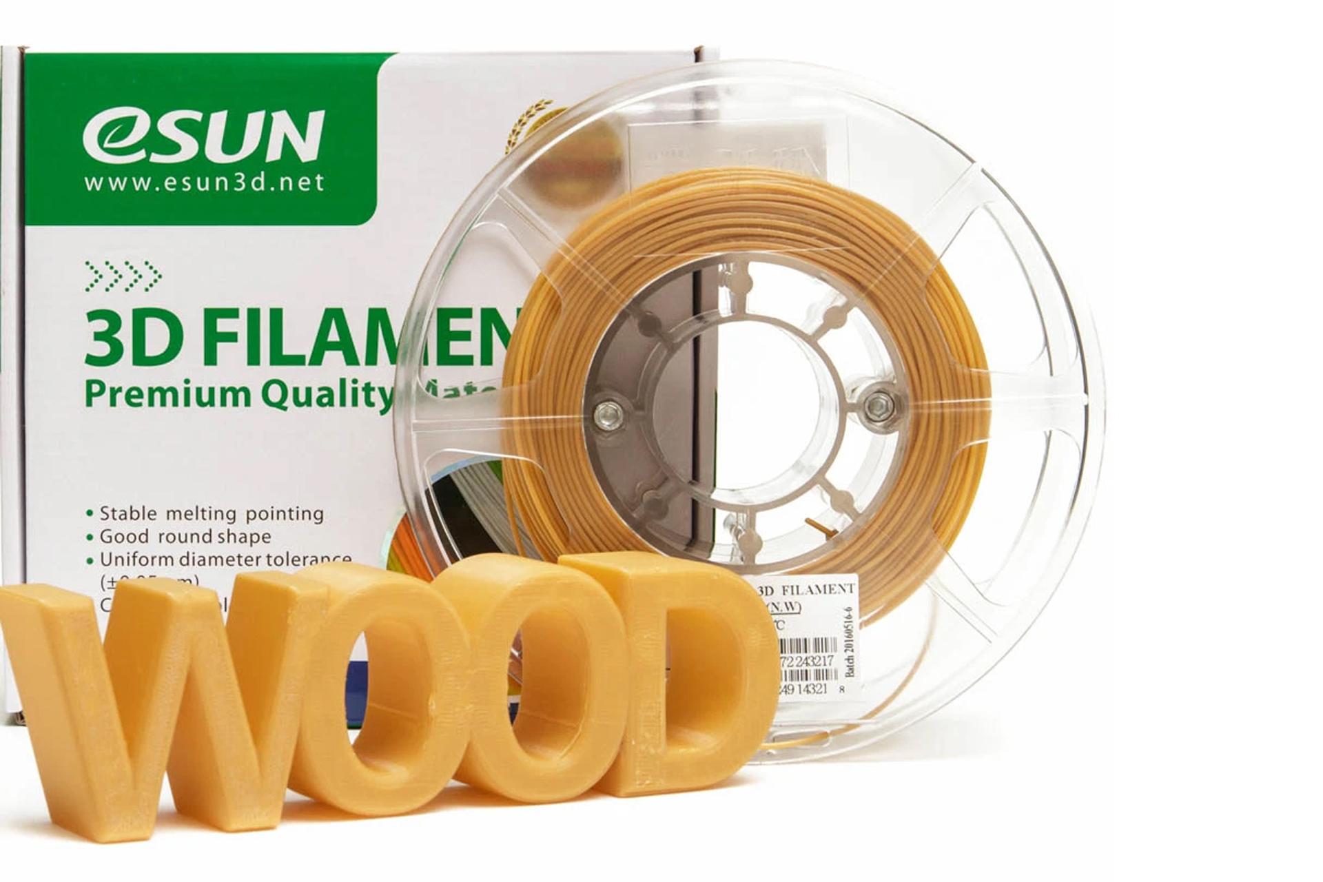 Wood пластик ESUN натуральный (natural) купить киев харьков днепр запорожье львов одесса