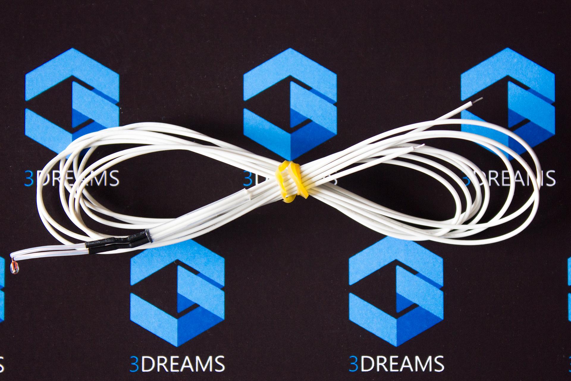 Термистор 100K Ом NTC 3950 для 3D принтера с кабелем купить украина 2
