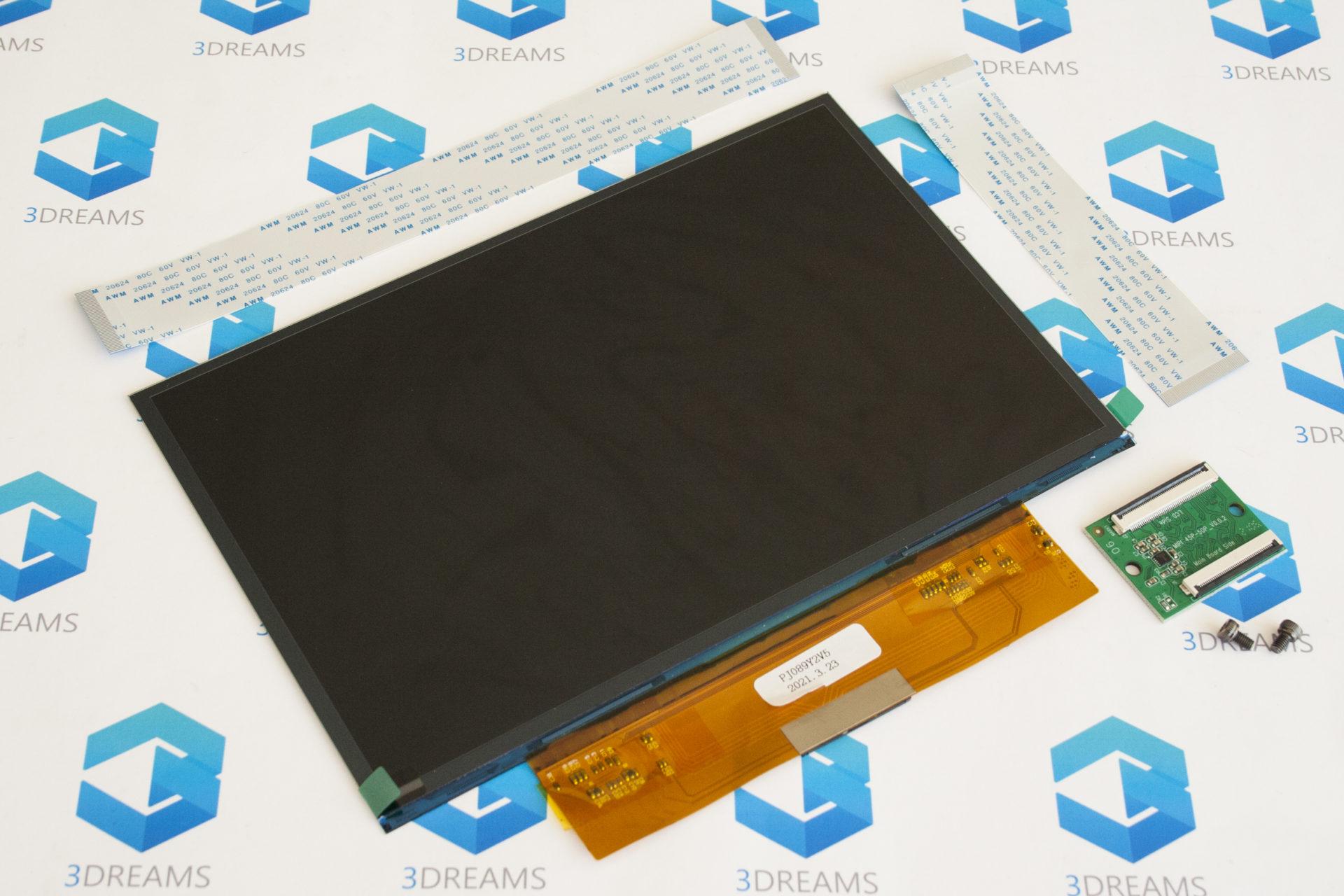 Дисплей (Матрица) LCD 4K для Anycubic Photon Mono X купить украина 1
