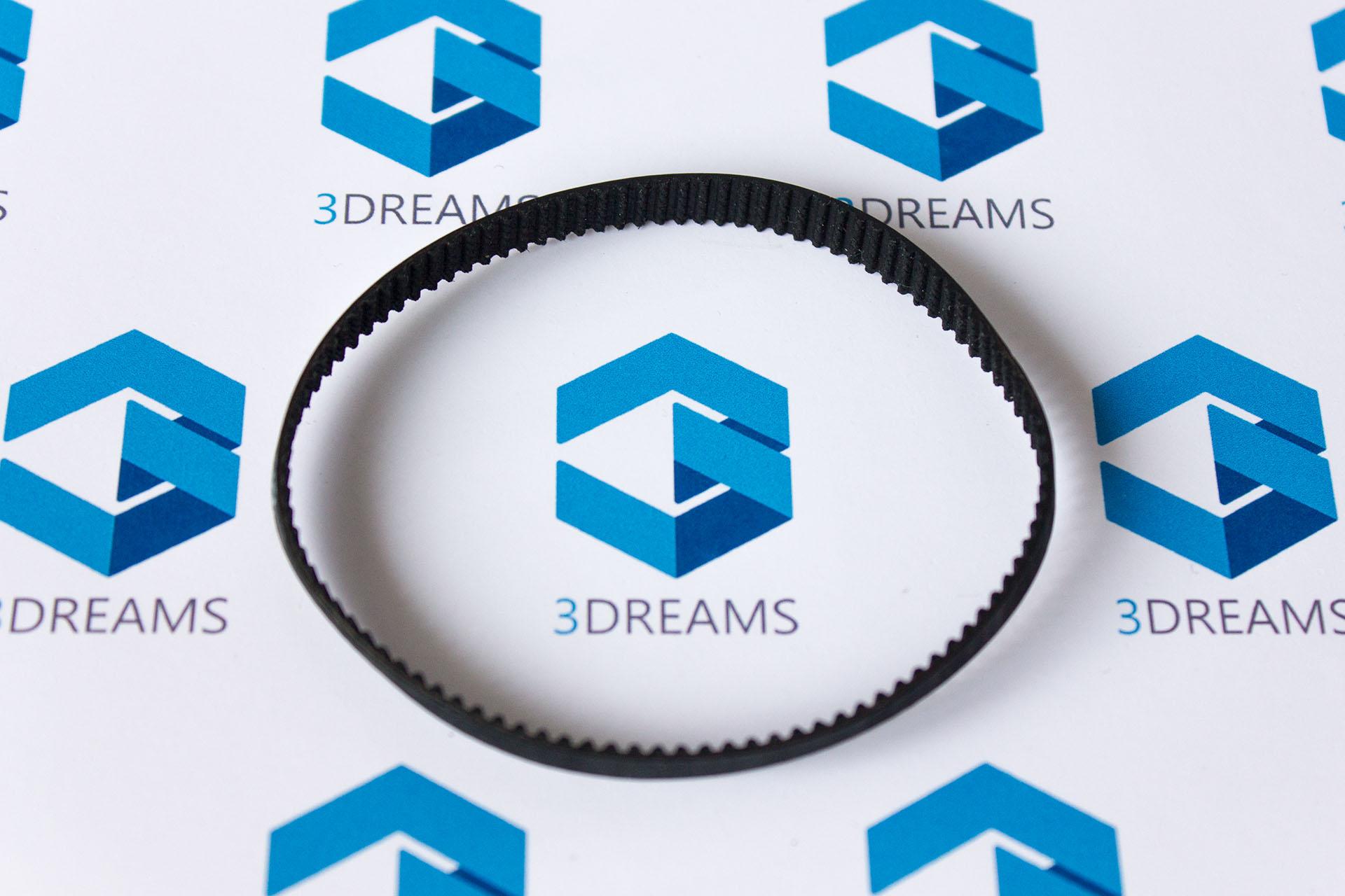 Зубчатый ремень GT2 замкнутый (кольцевой) для 3D принтера купить киев харьков днепр одесса запорожье львов 1
