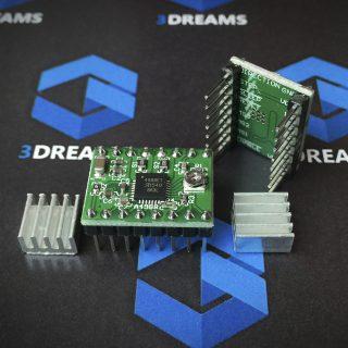 драйвер для шагового двигателя для 3д принтера