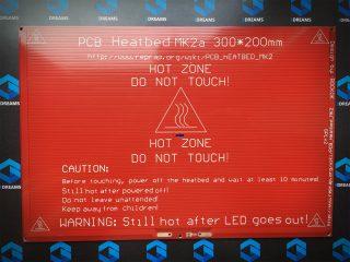 нагревательная плата для 3д принтера