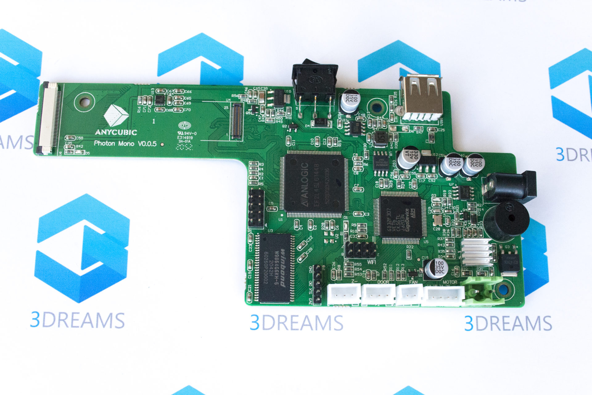 Материнская плата управления для 3D принтера Anycubic Photon Mono купить украина 1