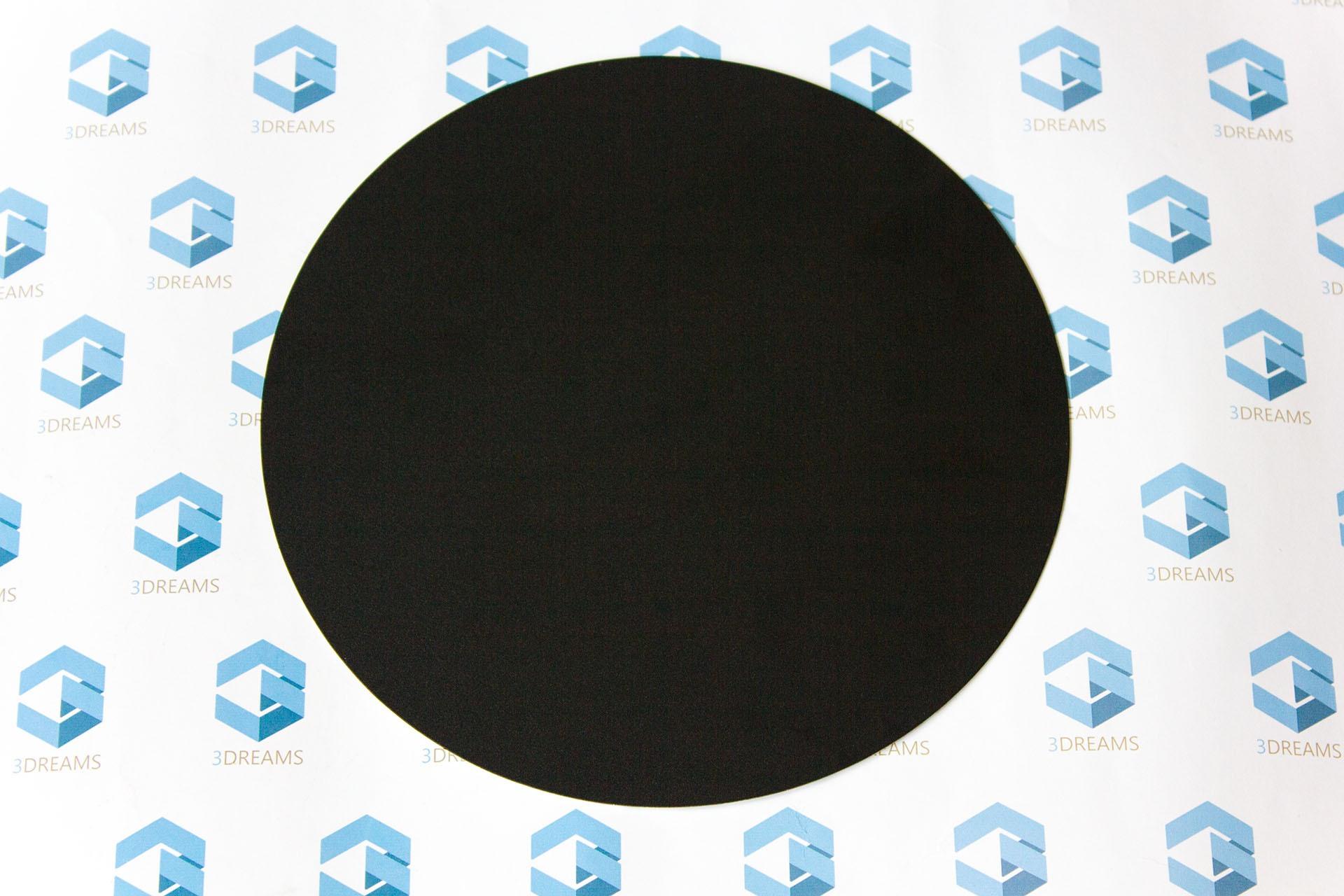 Круглый термоковрик для 3D принтера 220 х 220 мм купить украина