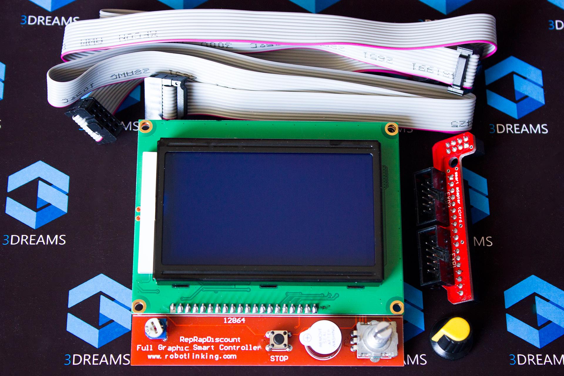 Дисплей 3D принтера LCD 12864 купить киев харьков днепр одесса запорожье львов