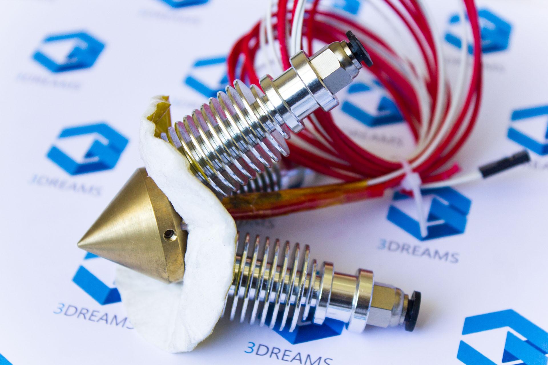 Экструдер (хотэнд) Diamond 3 в 1 для смешивания пластиков для 3D принтера купить украина 2