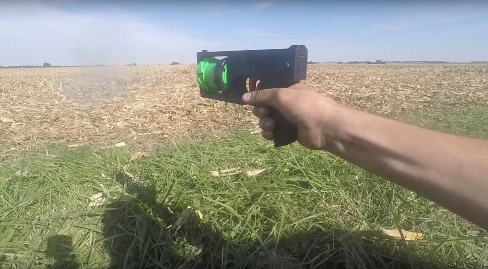 пистолет напечатанный на 3d принтере в украине
