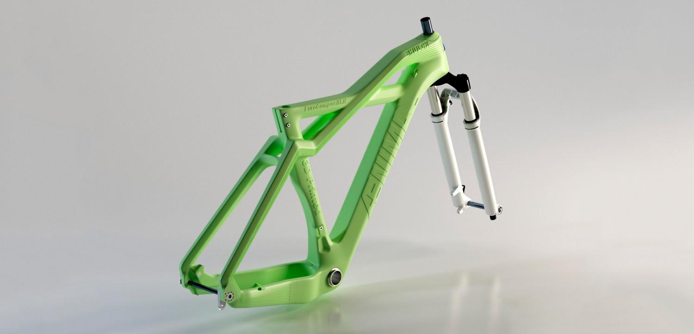 3d печать велосипеда