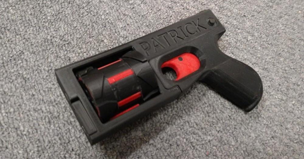 3d печать оружия