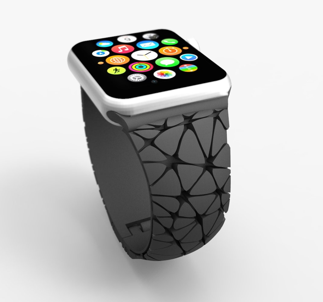 3D printing watch straps Apple Watch | 3D printing in