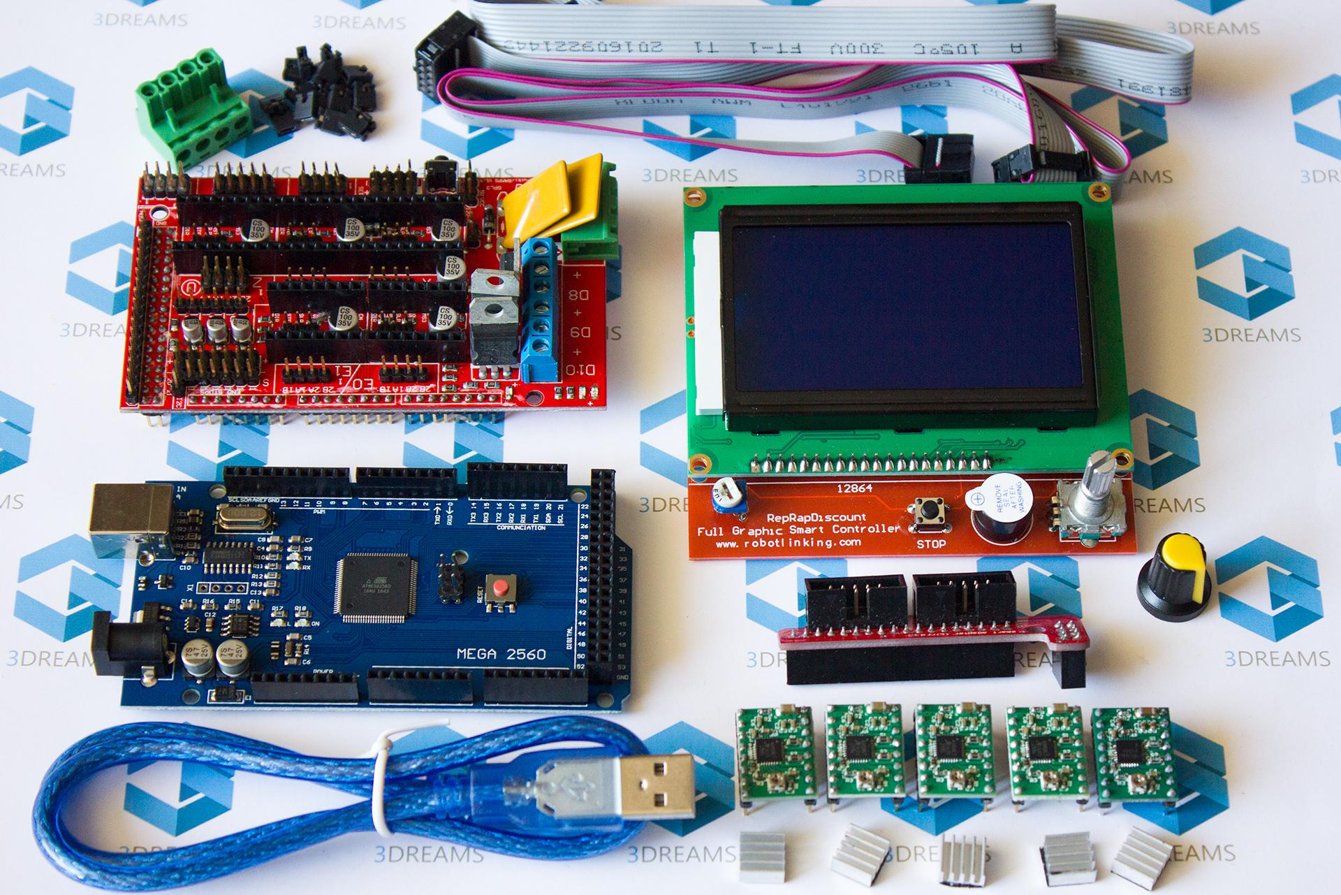 Набор электроники для 3D принтера купить украина 1