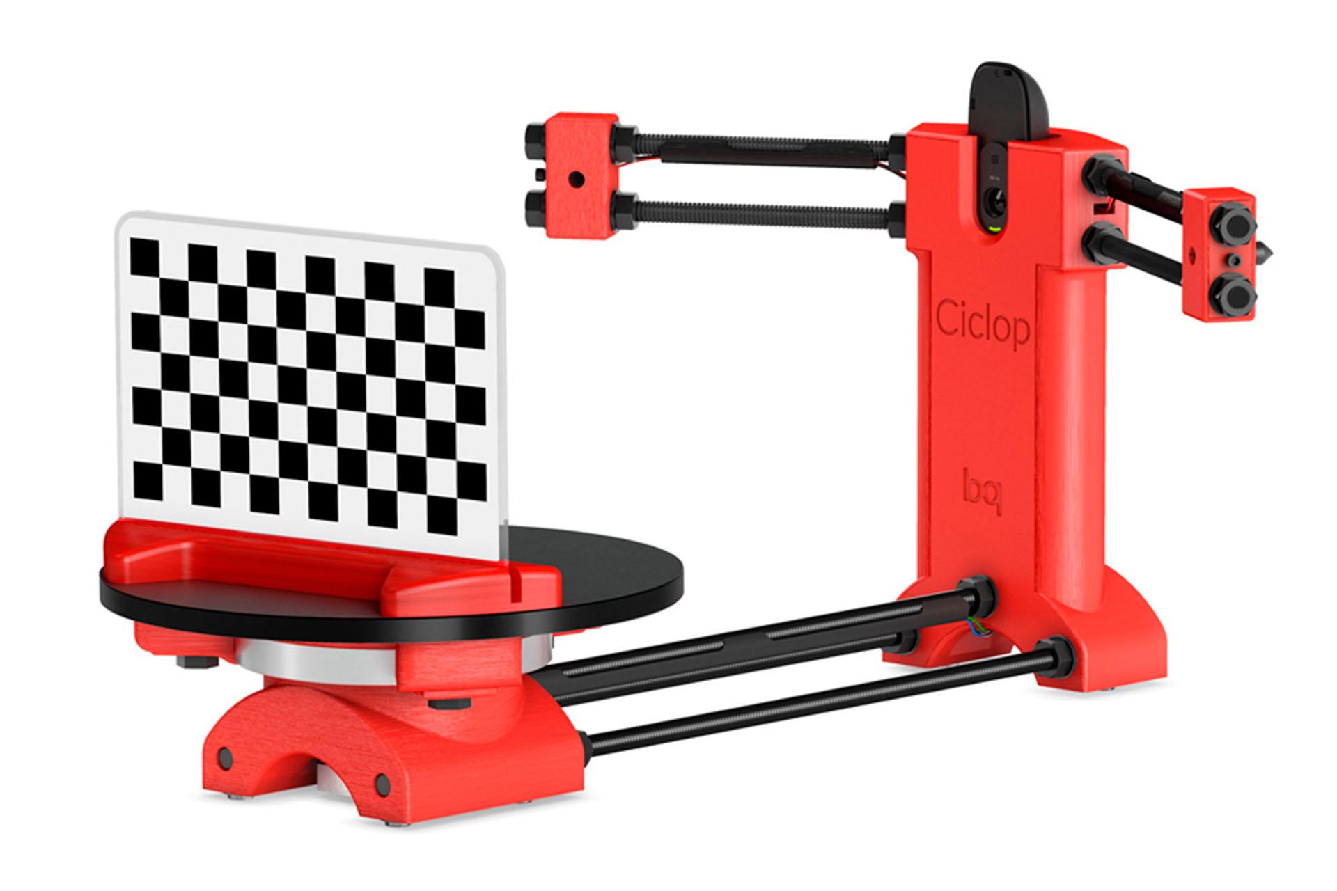 3D сканер bq Ciclop украина купить