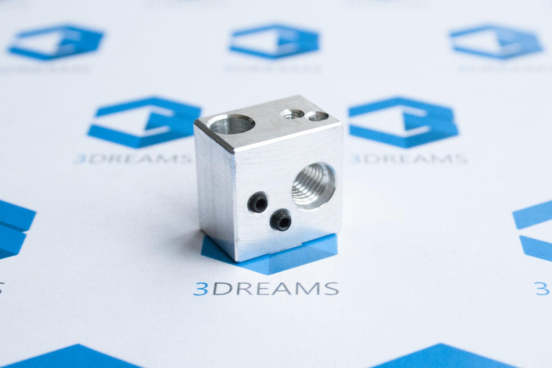 Алюминиевый нагревательный блок для Wanhao D9 купить украина 1
