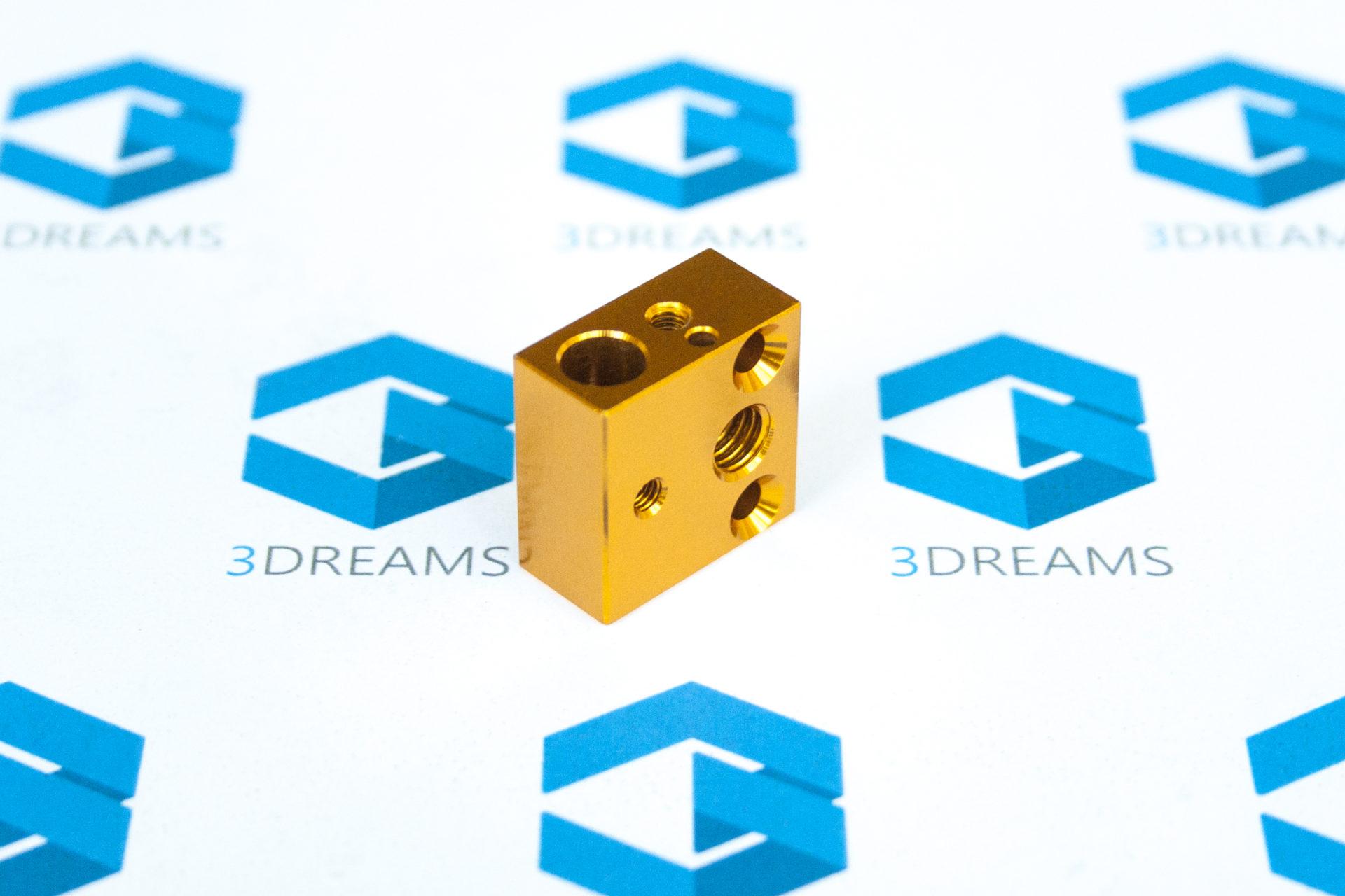 Алюминиевый нагревательный блок Creality Ender-3, CR-10S купить киев харьков днепр львов запорожье одесса 1