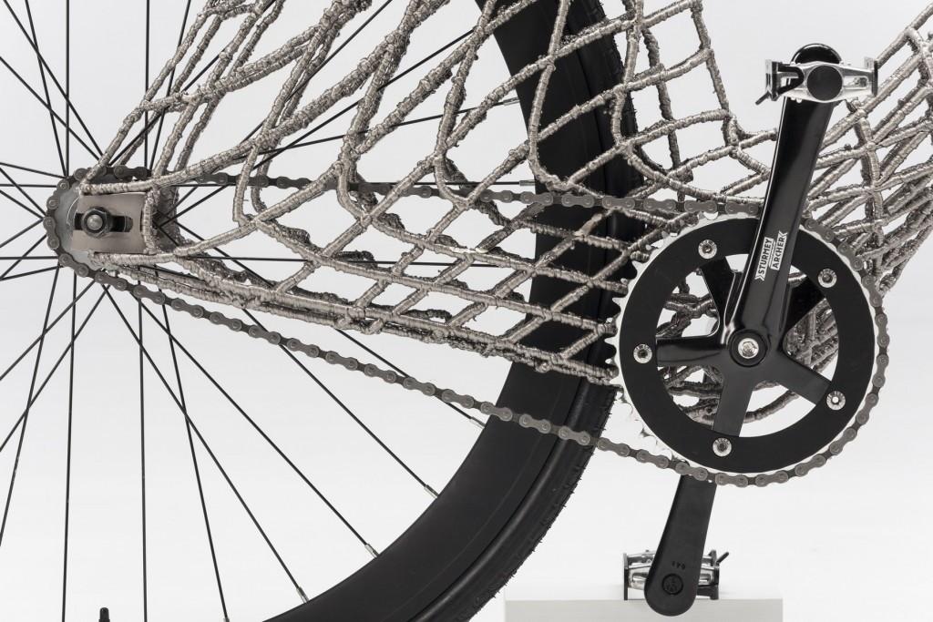 велосипед напечатанный на 3d принтере