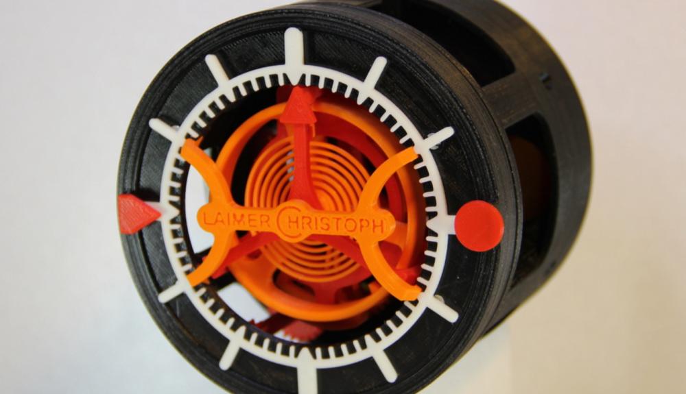 качсы с турбийоном напечатанные на 3d принтере