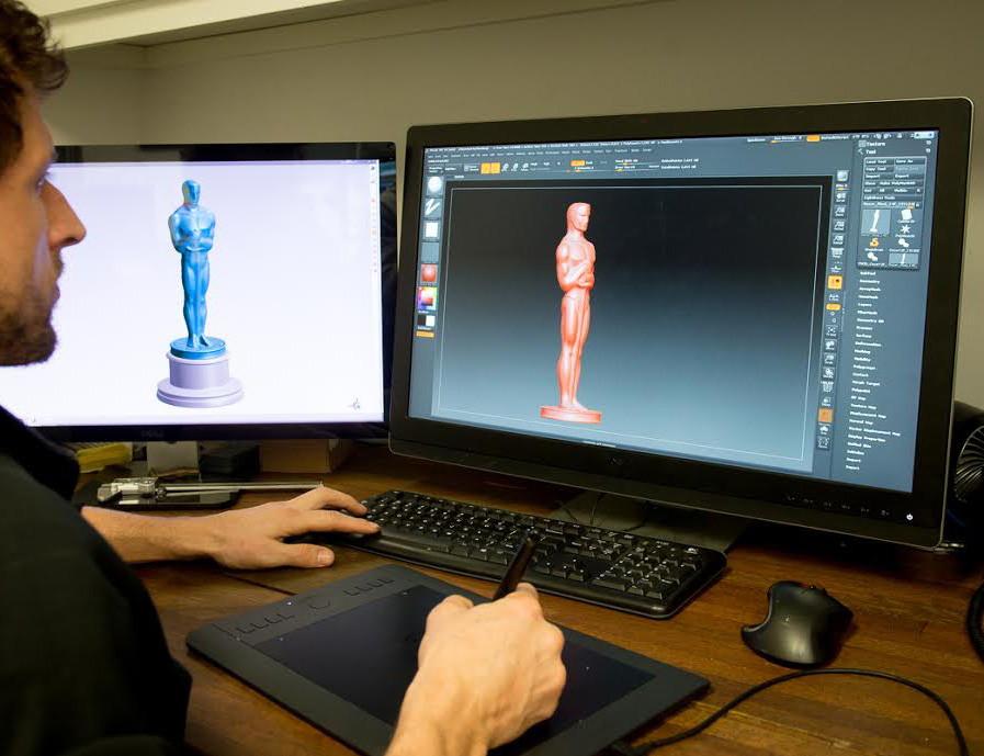 статуэтка напечатанная на 3д принтере