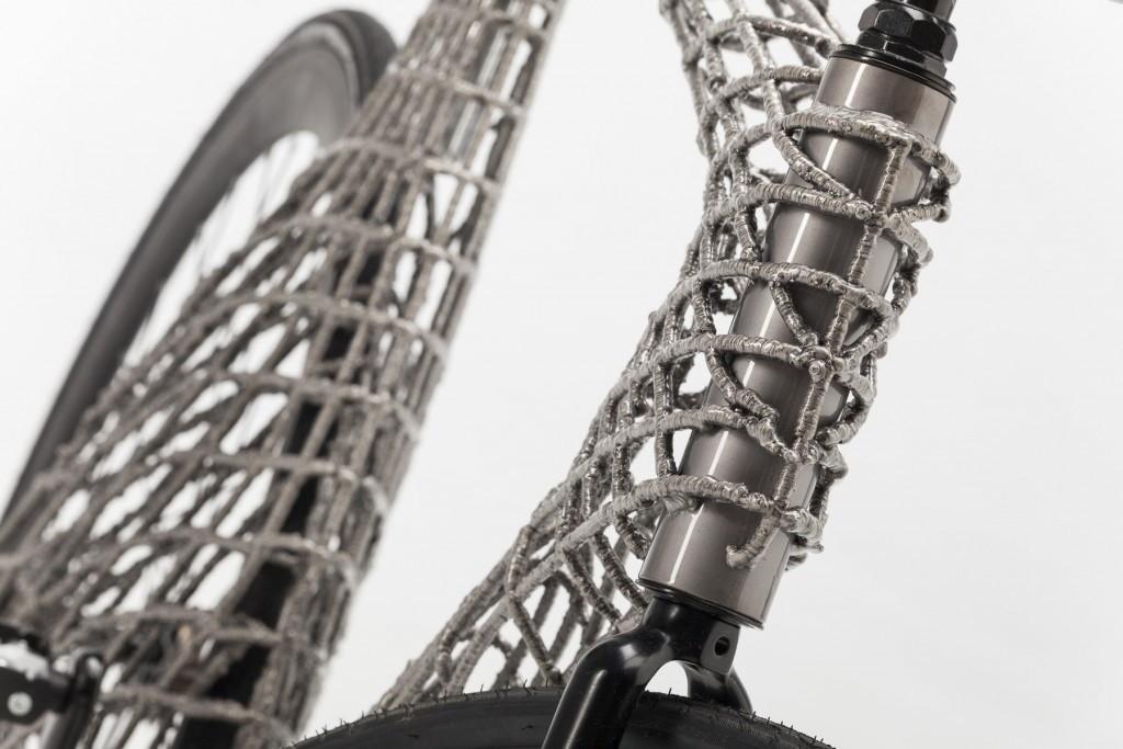 3d принтер напечатал металлом велосипед в украине