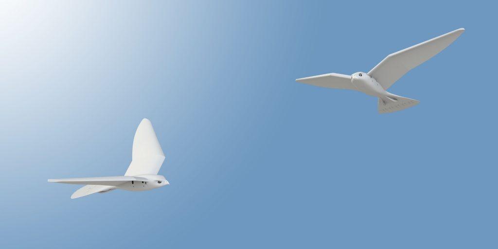 3d печать робота летающего в форме птицы в киеве