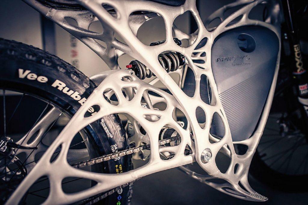 напечатанный на 3d принтере мотоцикл