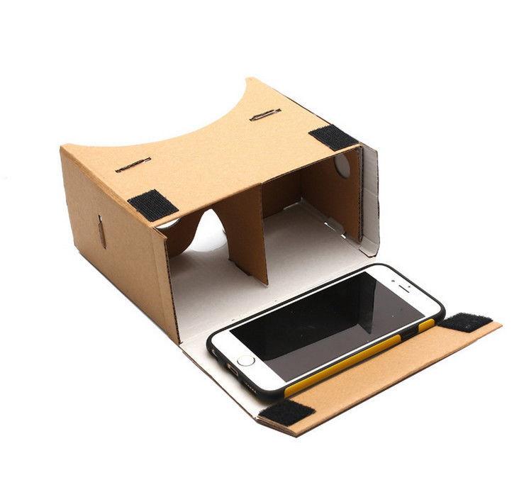 DIY Google Cardboard очки