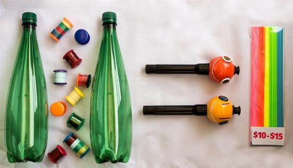 в киеве 3d ручка которая рисует плдастиком из бутылок