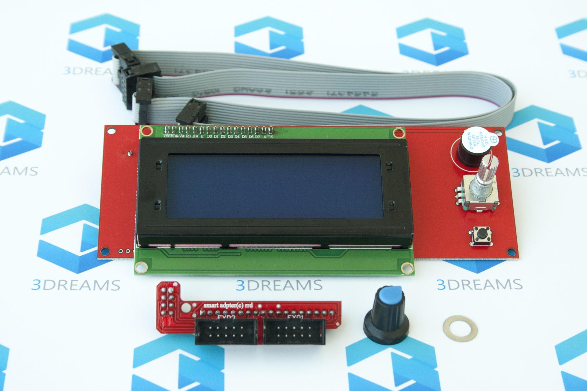 Дисплей 3D принтера LCD 2004 купить украина 1