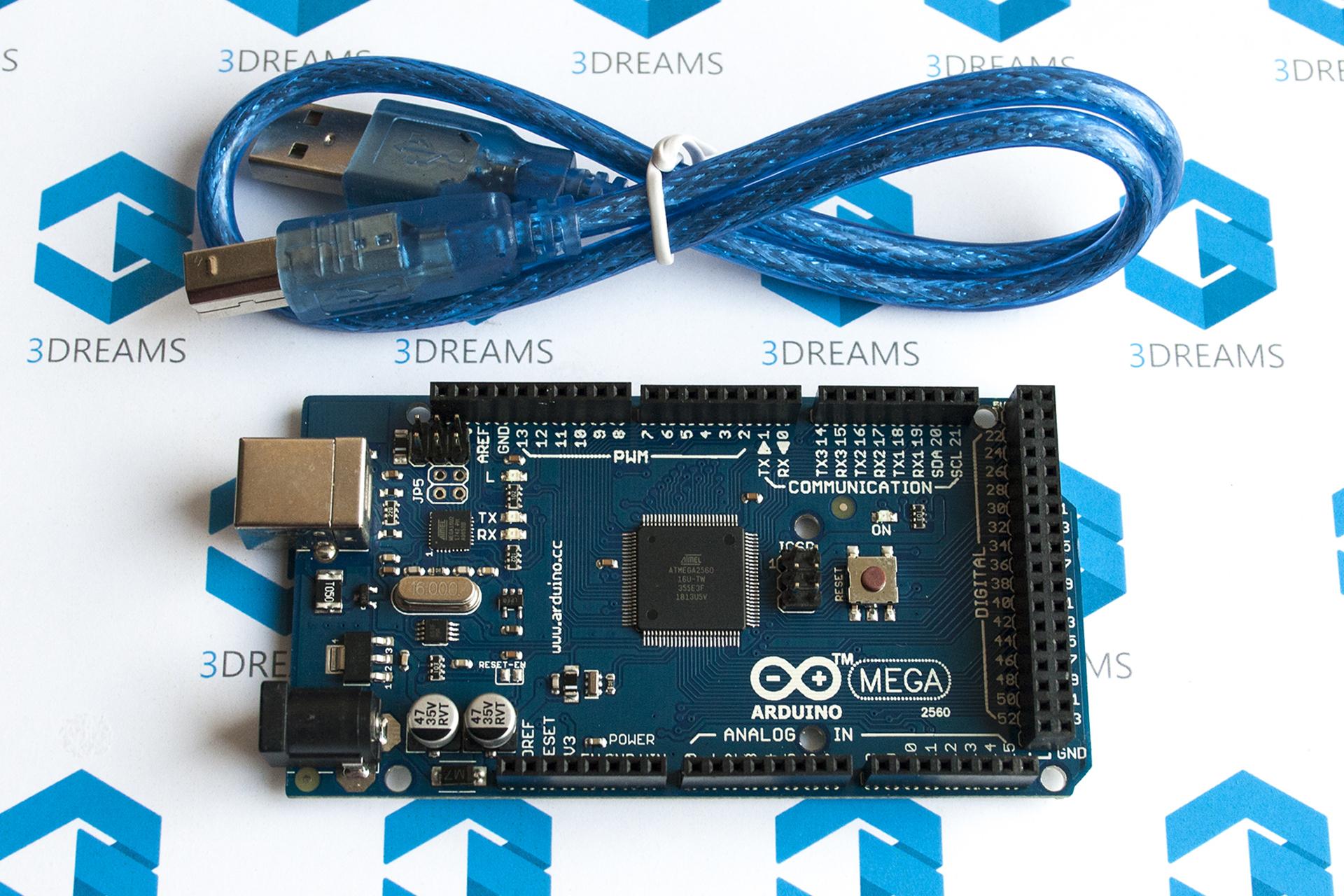 Материнская плата Arduino Mega 2560 с контроллером ATmega16U2 купить украина