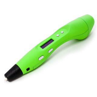 3D ручка Myriwell RP400A с LCD экраном зеленая купить украина