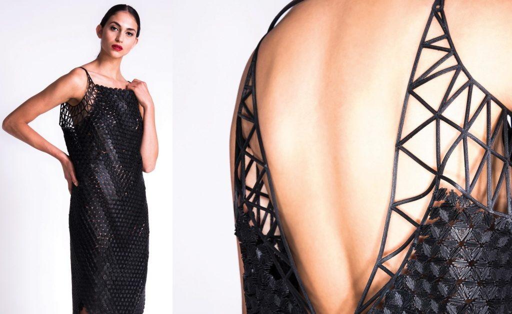 напечатанная одежда для показа мод в харькове