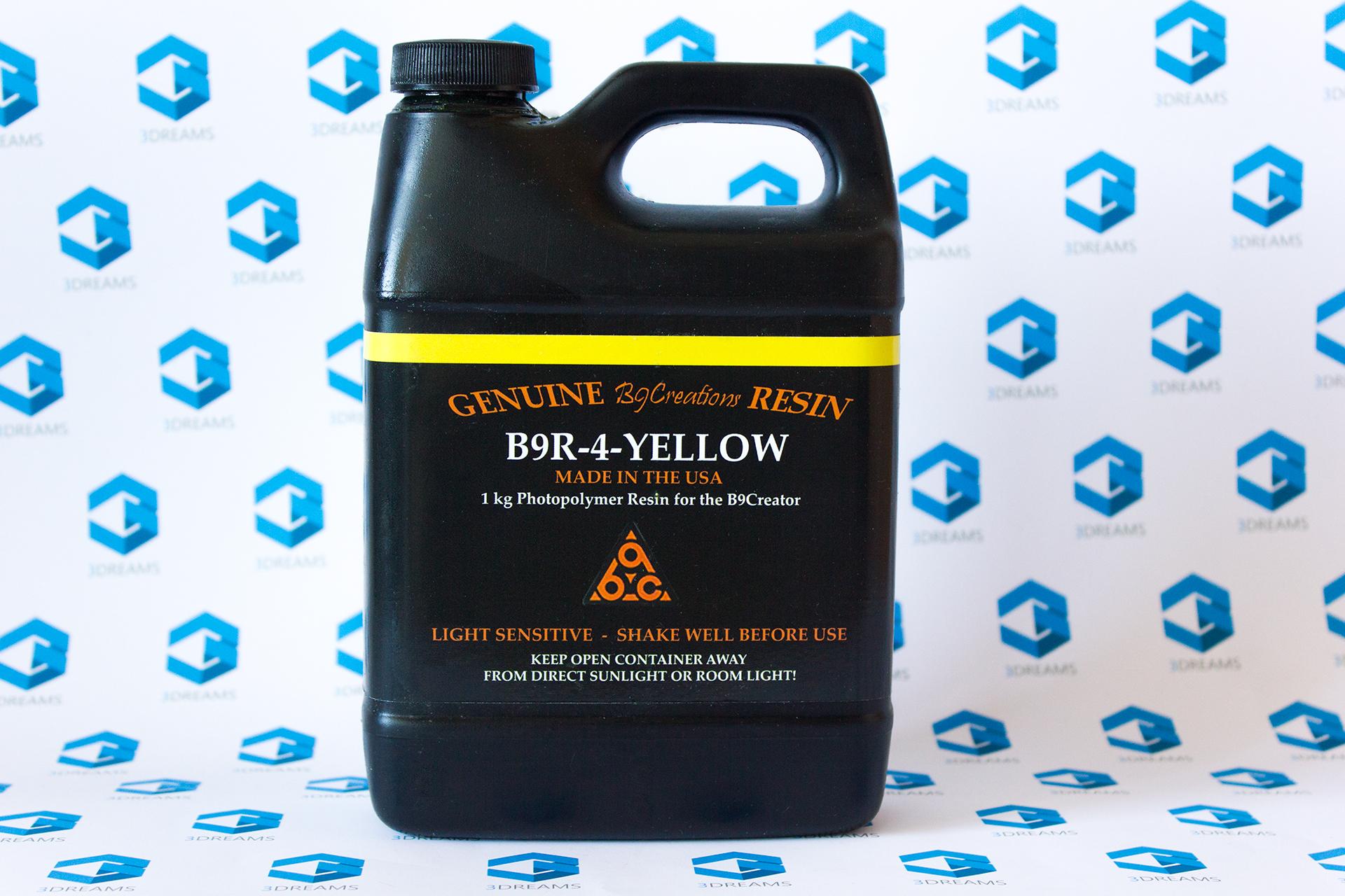Фотополимерная смола B9R-4-Yellow купить украина