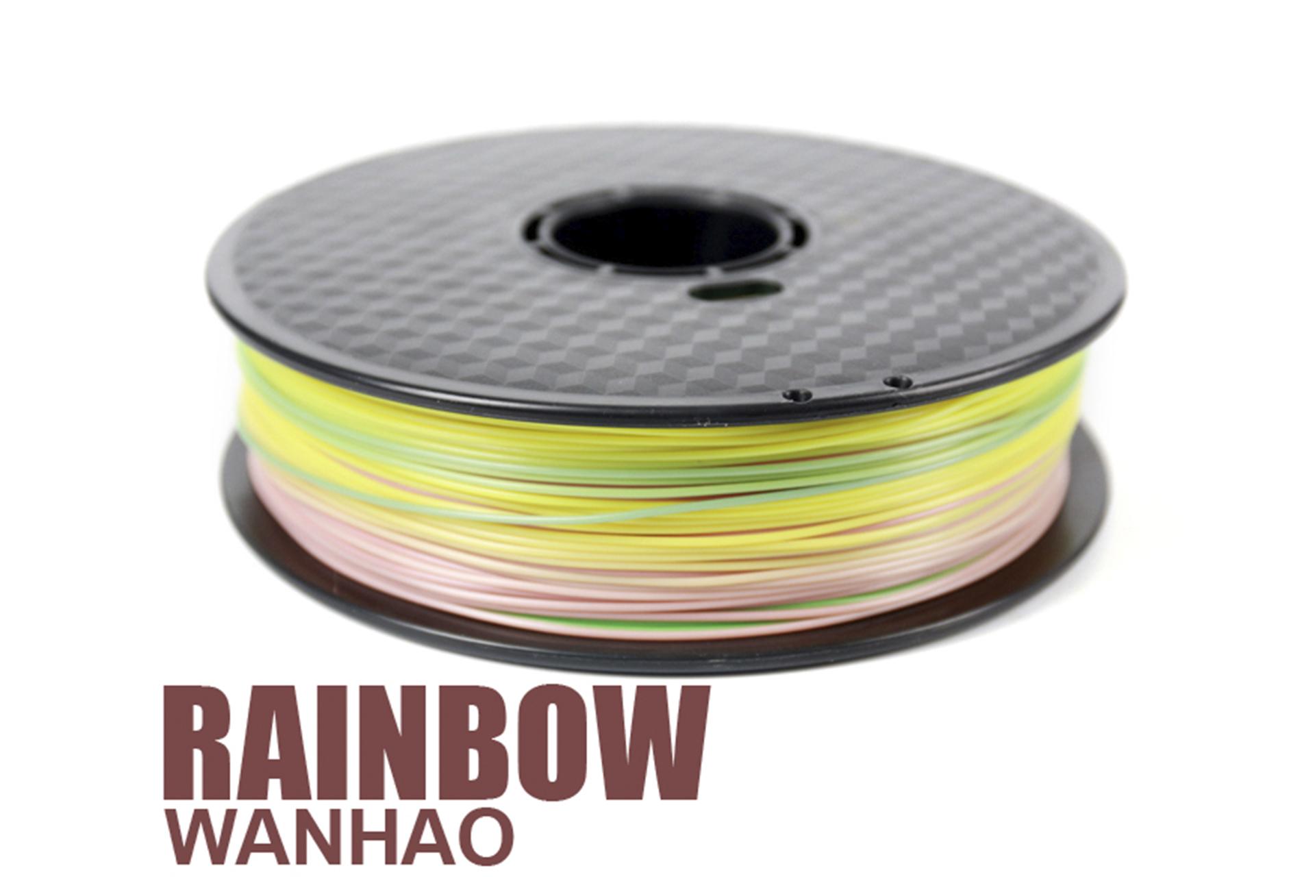 PLA Rainbow градиент пластик Wanhao Multicolor купить украина 1