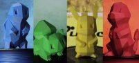 3D печать покемонов — выберите своего покемона